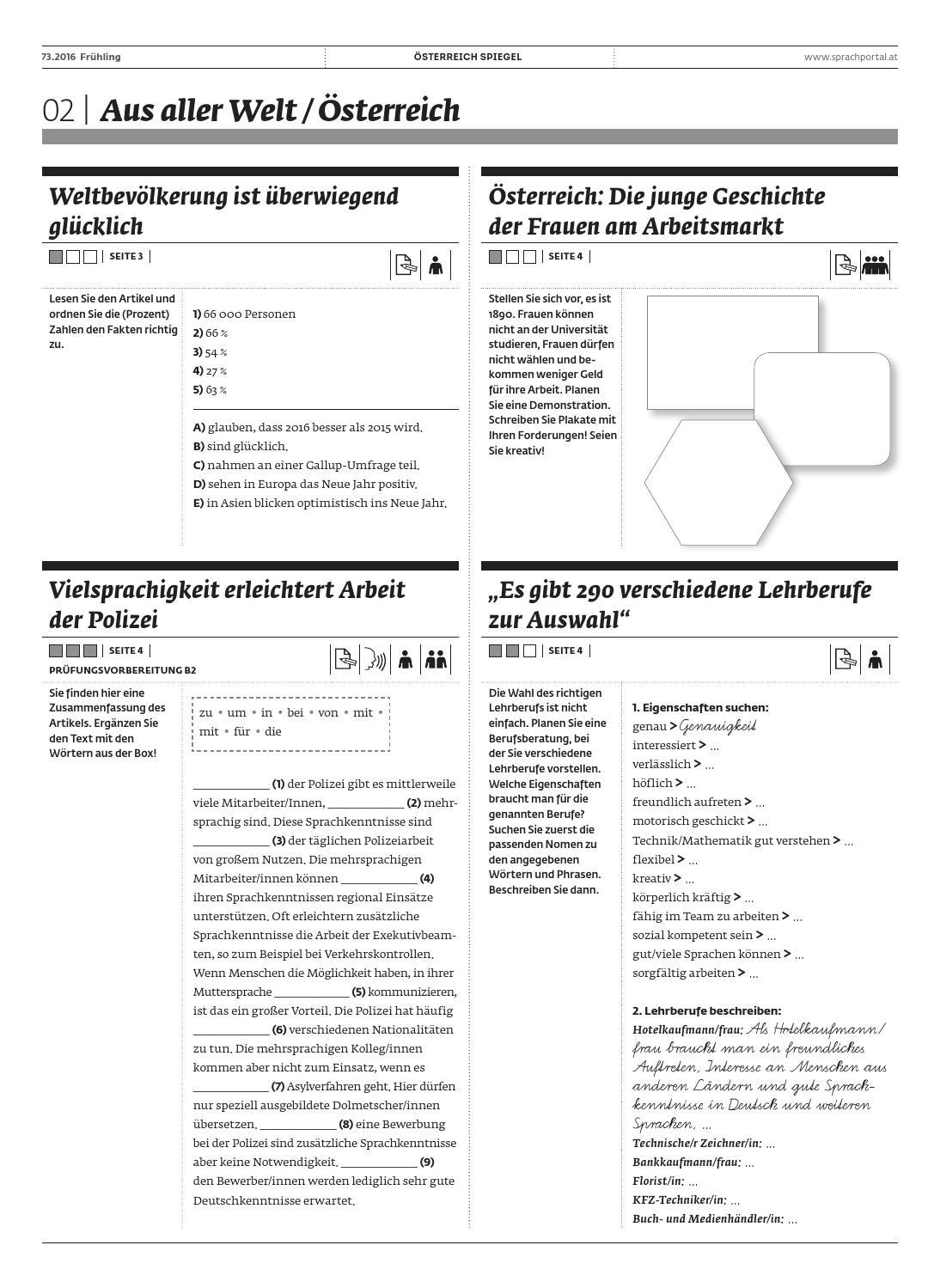 Uebungen schwerpunkt spiegel 73 by Österreichischer ...