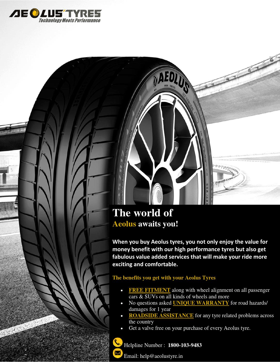 Buy best car suv tyres in india at aeolus tyre by Chris Nguyen - issuu