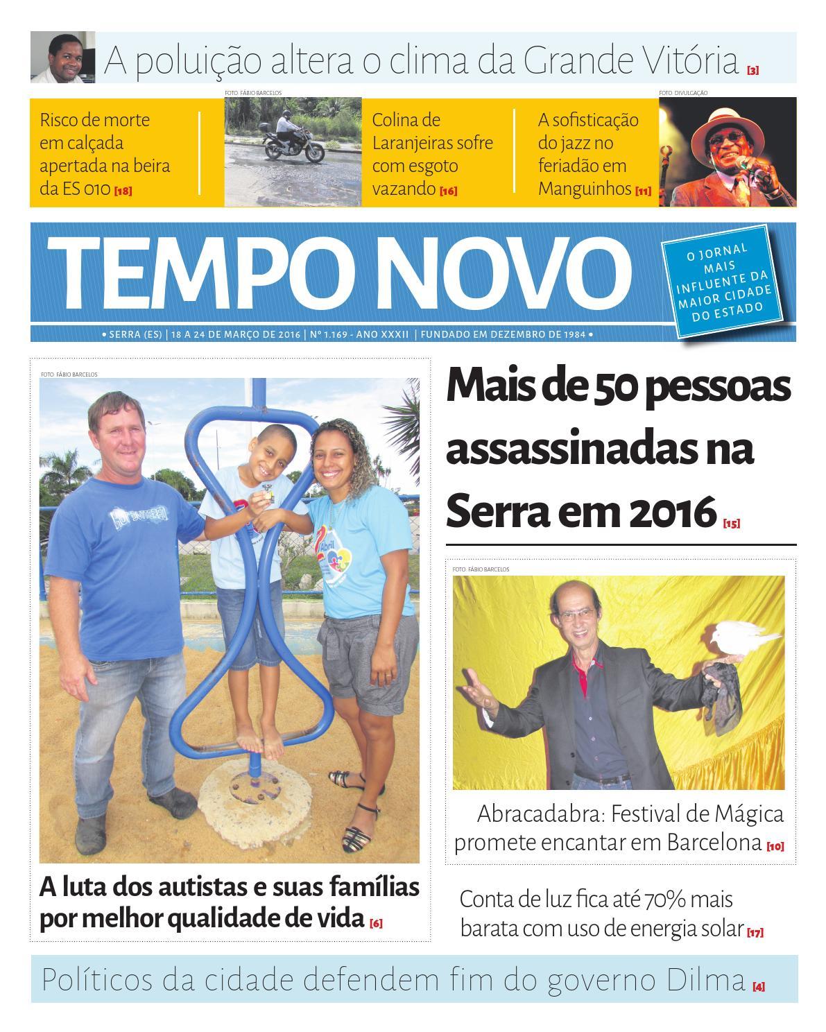 Leia a edição 1169 desta sexta (18) na íntegra by Jornal Tempo Novo - issuu 627684f5980b3