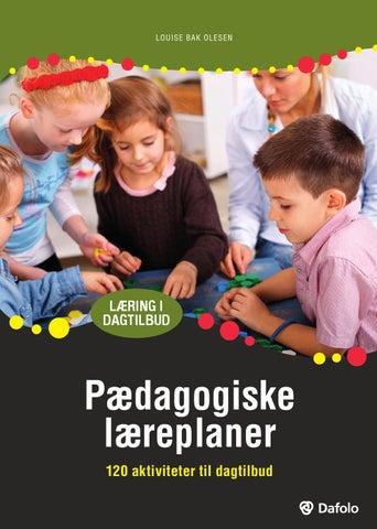 pædagogiske aktiviteter i vuggestuen