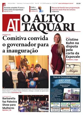 95ee8cb8e Jornal O Alto Taquari - 11 de março de 2016 by Jornal O Alto Taquari ...