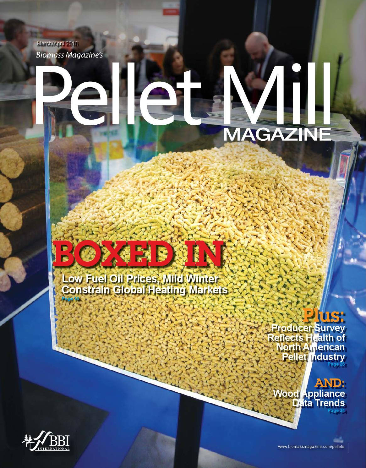March april pellet mill magazine by bbi