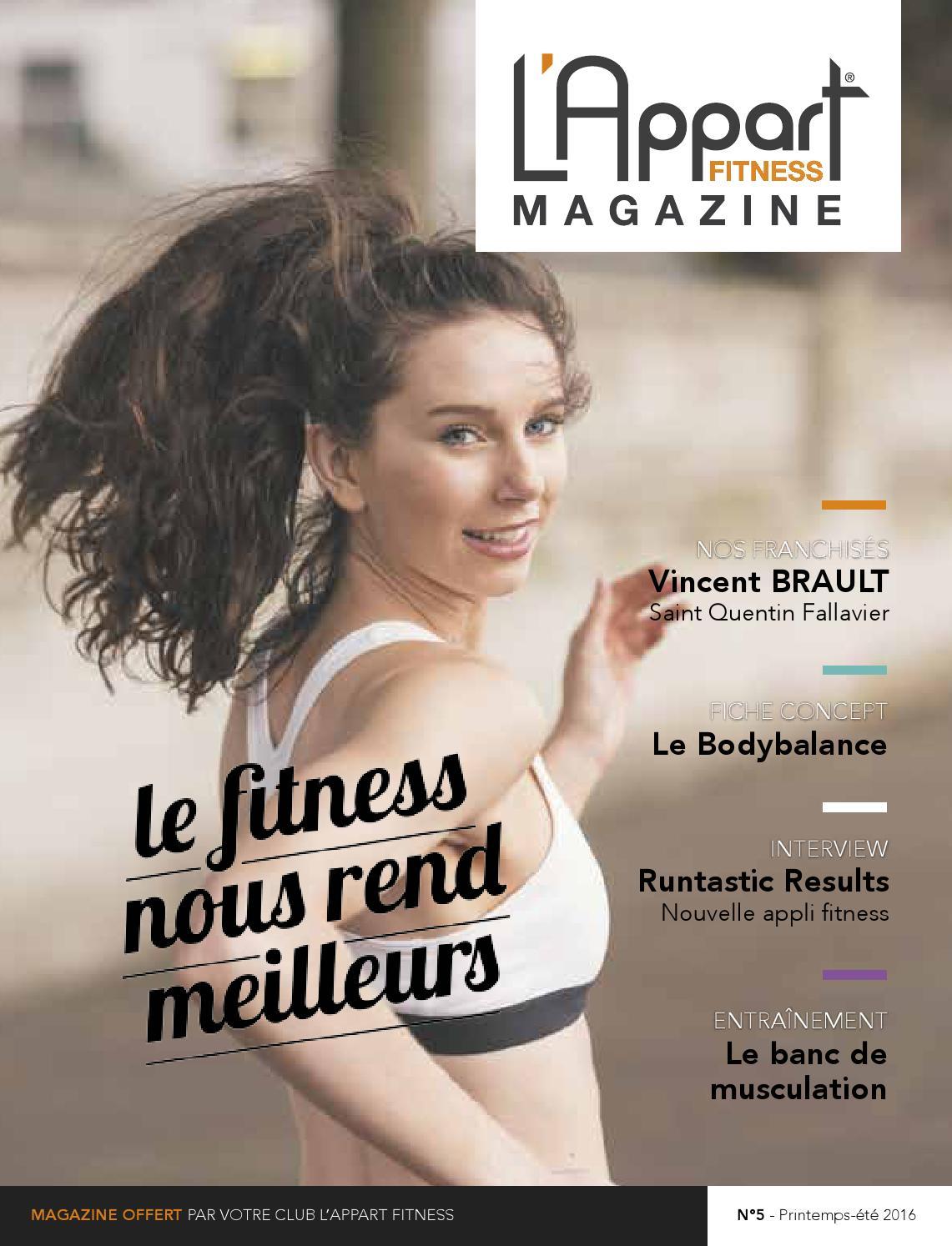 l 39 appart fitness magazine 05 by mog design issuu. Black Bedroom Furniture Sets. Home Design Ideas