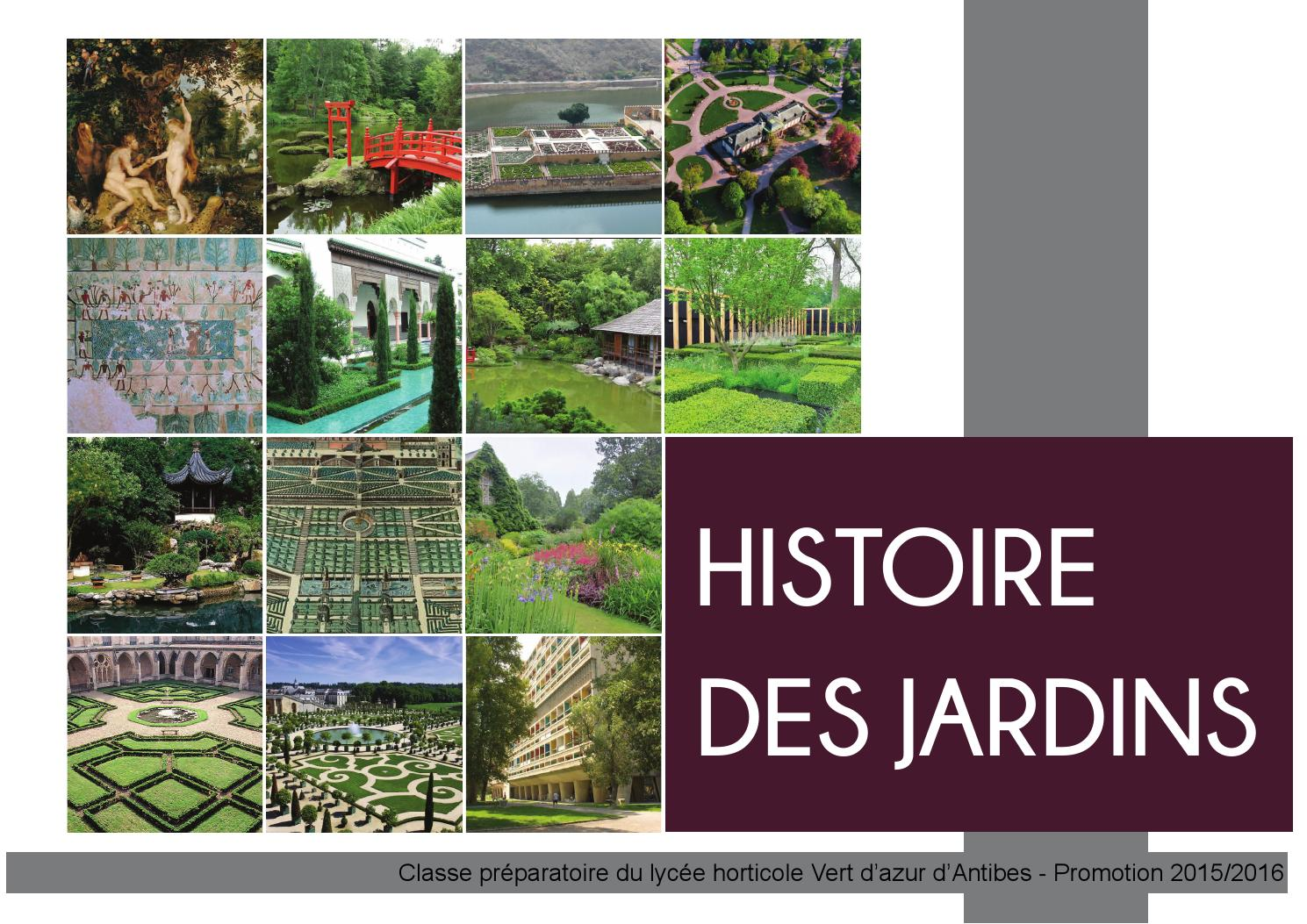Dossier histoire des jardins by cl ment bigot issuu for Jardin anglais histoire