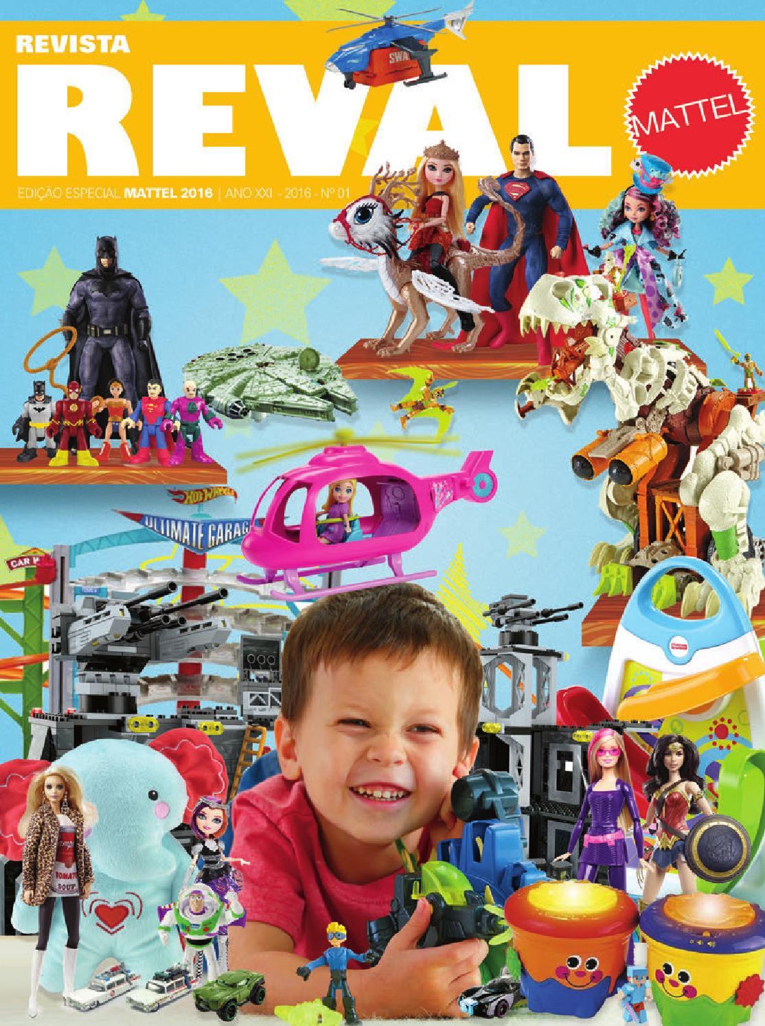 Revista Reval Mattel 2016 by Reval Atacado de Papelaria Ltda. - issuu 9354623e6e3