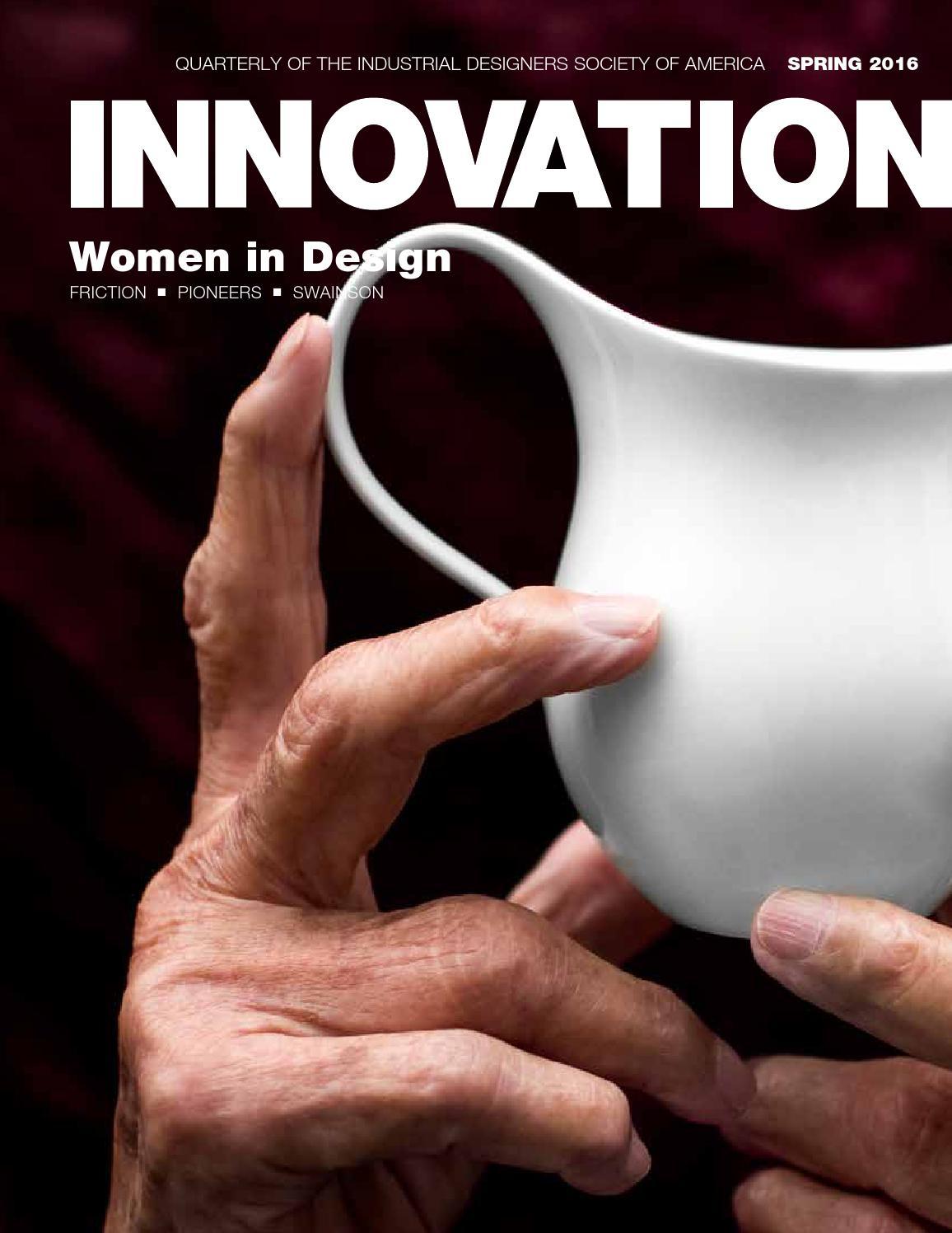 cf342c6b1605 Innovation Spring 2016  Women in Design by Industrial Designers Society of  America - issuu