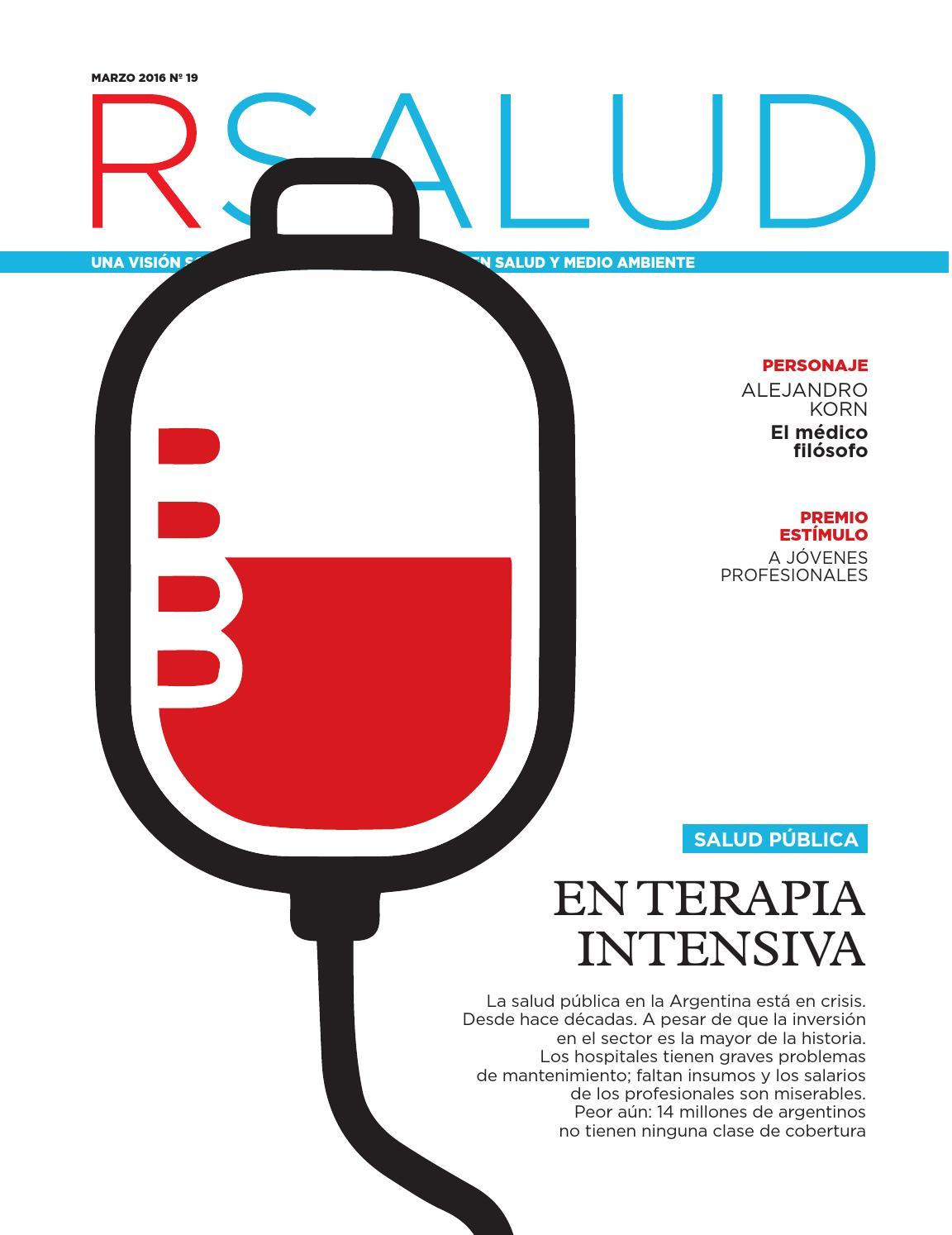 Edición19: Salud Pública, en terapia intensiva - 2016 by Revista ...