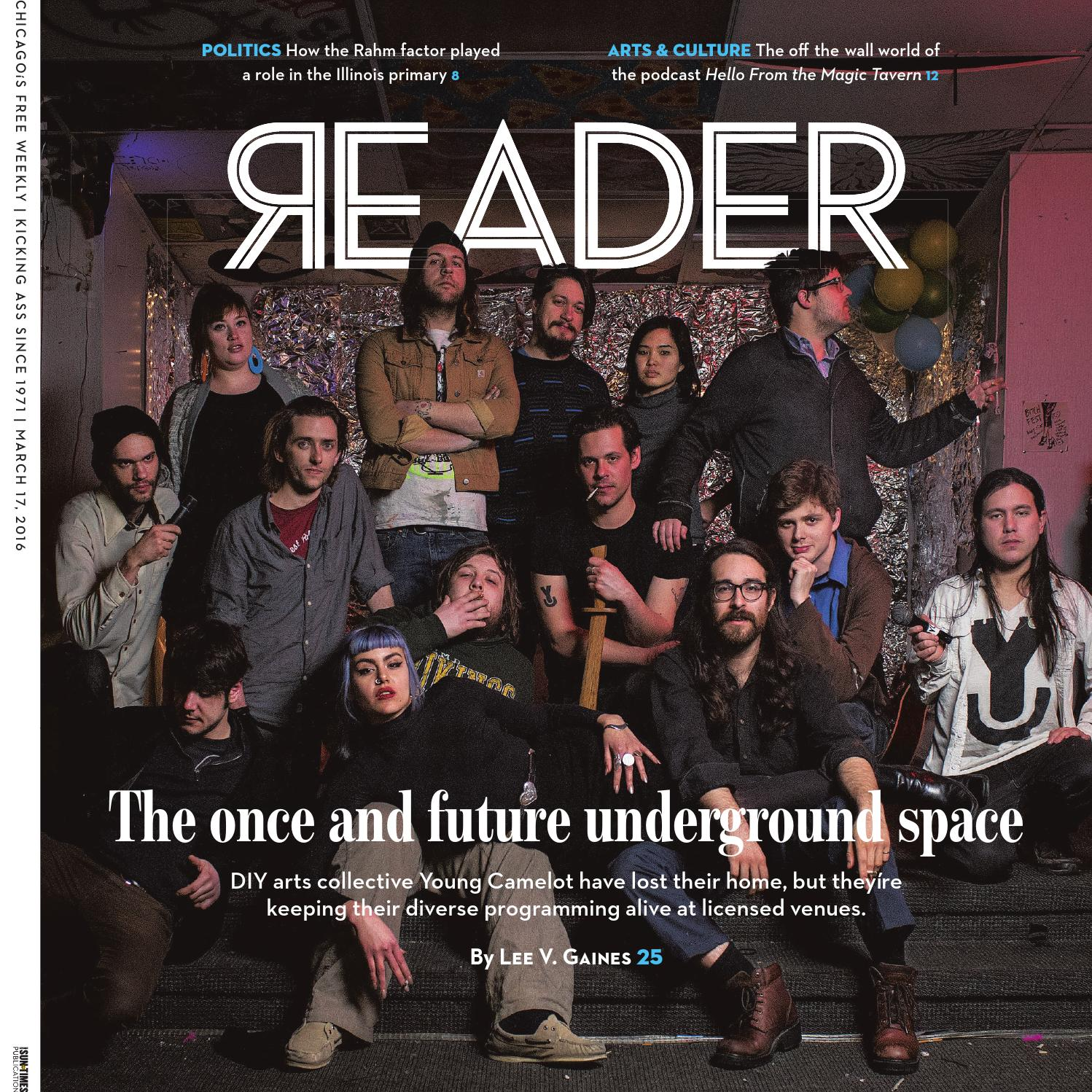 Chicago Reader print issue of March 17 2016 Volume 45 Number 23