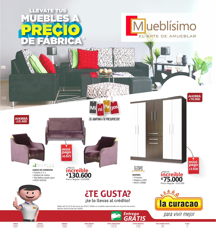 Muebles a precio de fábrica con Mueblísimo - La Curacao by La ...