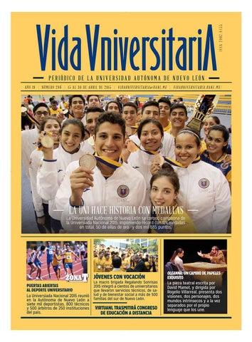 Vida Universitaria UANL No. 286 by Vida Universitaria - issuu 5b131a2180134