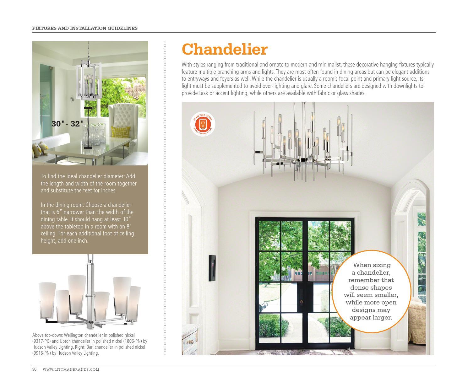 The lighting lookbook 2016 chandeliers by littman brands issuu arubaitofo Images