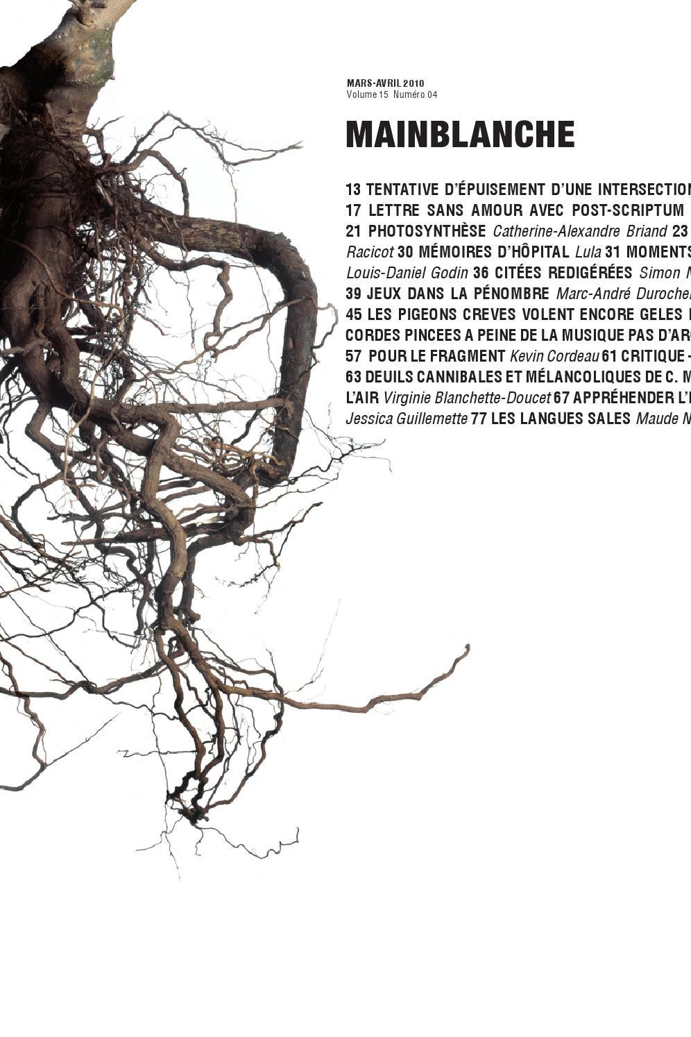 Vol 15 no 4   Dossier « Rhizomes » by revue.Main.Blanche - issuu c78edaeb93d