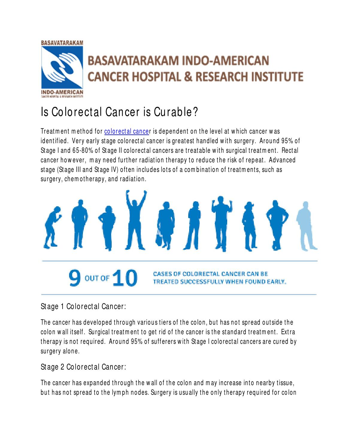 Colon Cancer Treatment Cancer Cure In India By Induscare Issuu
