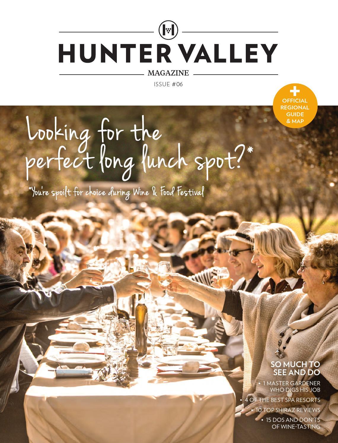 Hunter Valley Magazine Issue 6, 2016 by Hunter Valley Wine & Tourism ...
