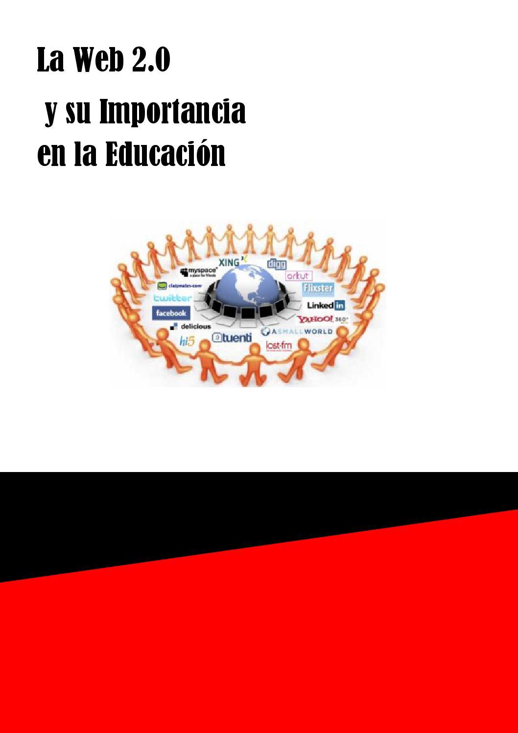 Web 2.0 y su importancia en la educacioón by rosamarmolejos - issuu