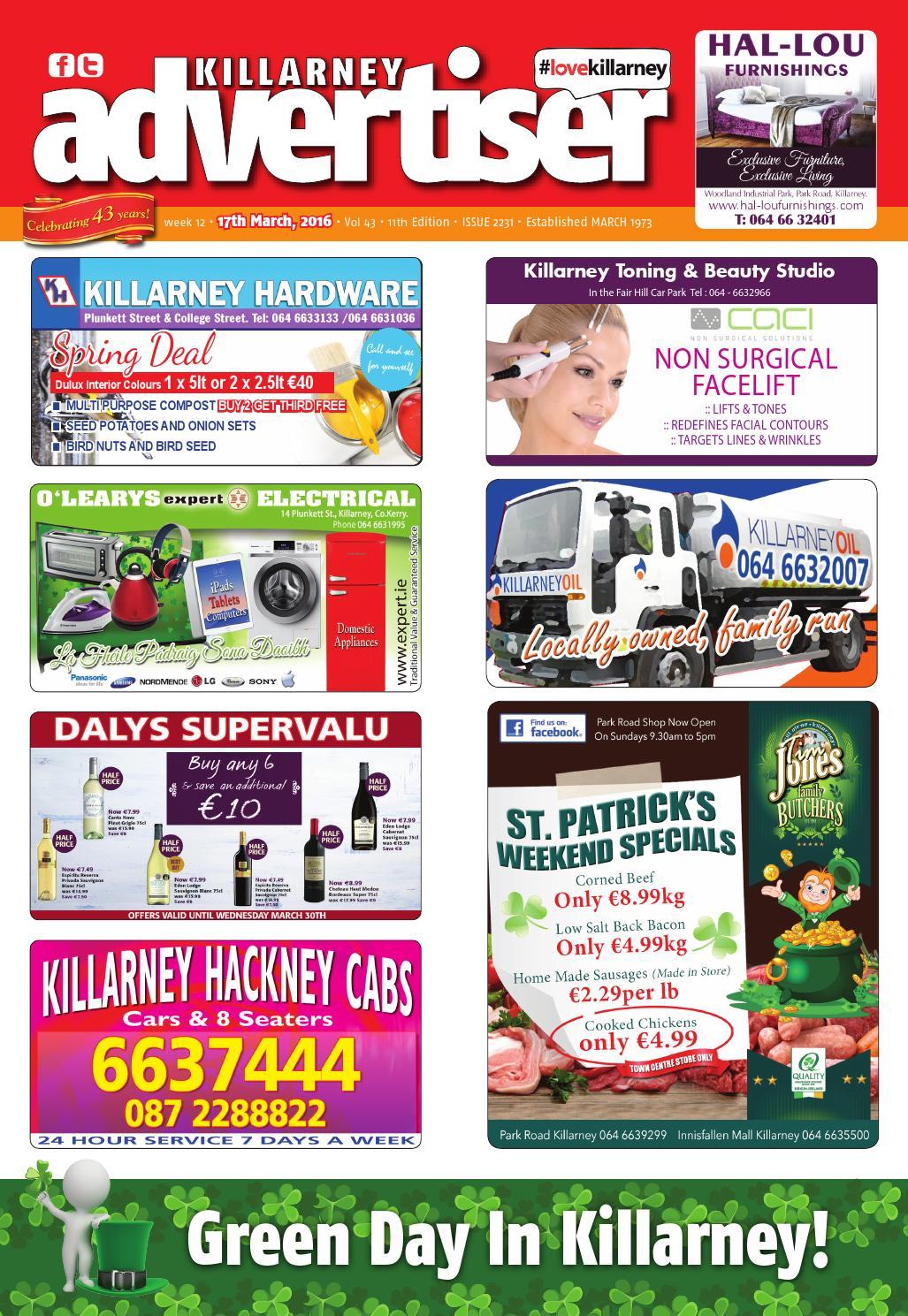 July 1st 2016 by killarney advertiser issuu pmusecretfo Gallery
