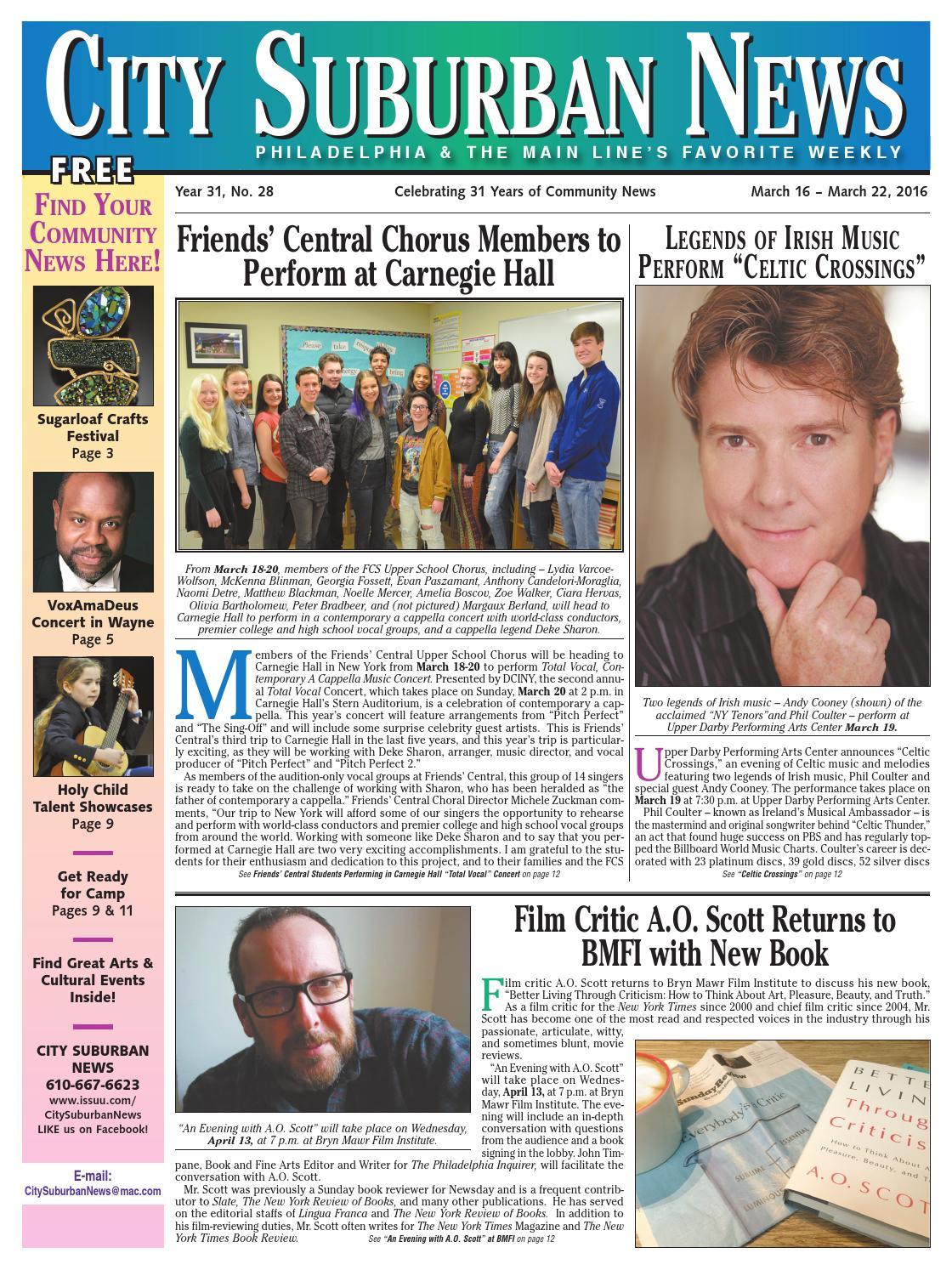 City Suburban News 3_16_16 issue by City Suburban News - issuu