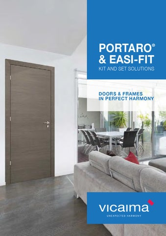 Page 1 & Vicaima Door Kit and Set solutions (en) by vicaima - issuu