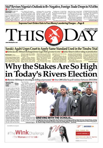 957c8bb0400 Saturday 19th 2016 by THISDAY Newspapers Ltd - issuu