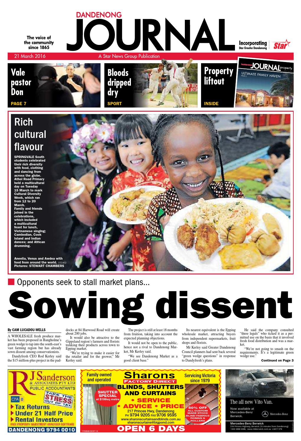 Dandenong Journal Star 21st March 2016 By Star News Group Issuu