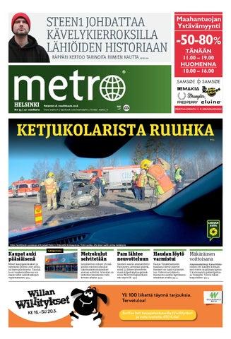 20160321 fi helsinki by metro finland - issuu d1e5da35fd