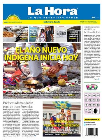 80492ff33f6 Imbabura carchi 21 de marzo del 2016 by Diario La Hora Ecuador - issuu