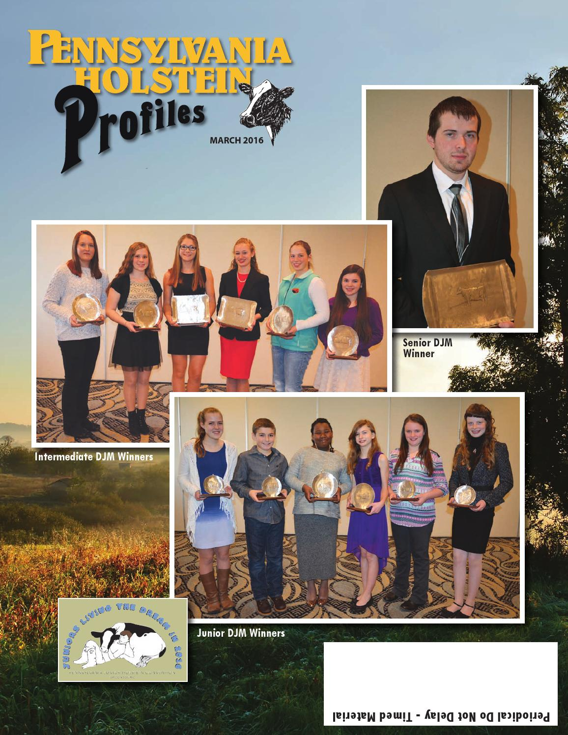 Pennsylvania Profiles 201603 by Dairy Agenda Today issuu