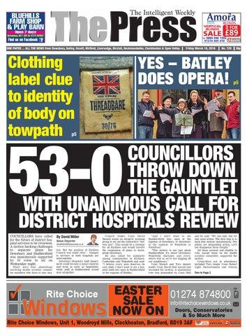 0a2fe752a41e1 Dewsbury march 18th by Yorkshire Web - issuu