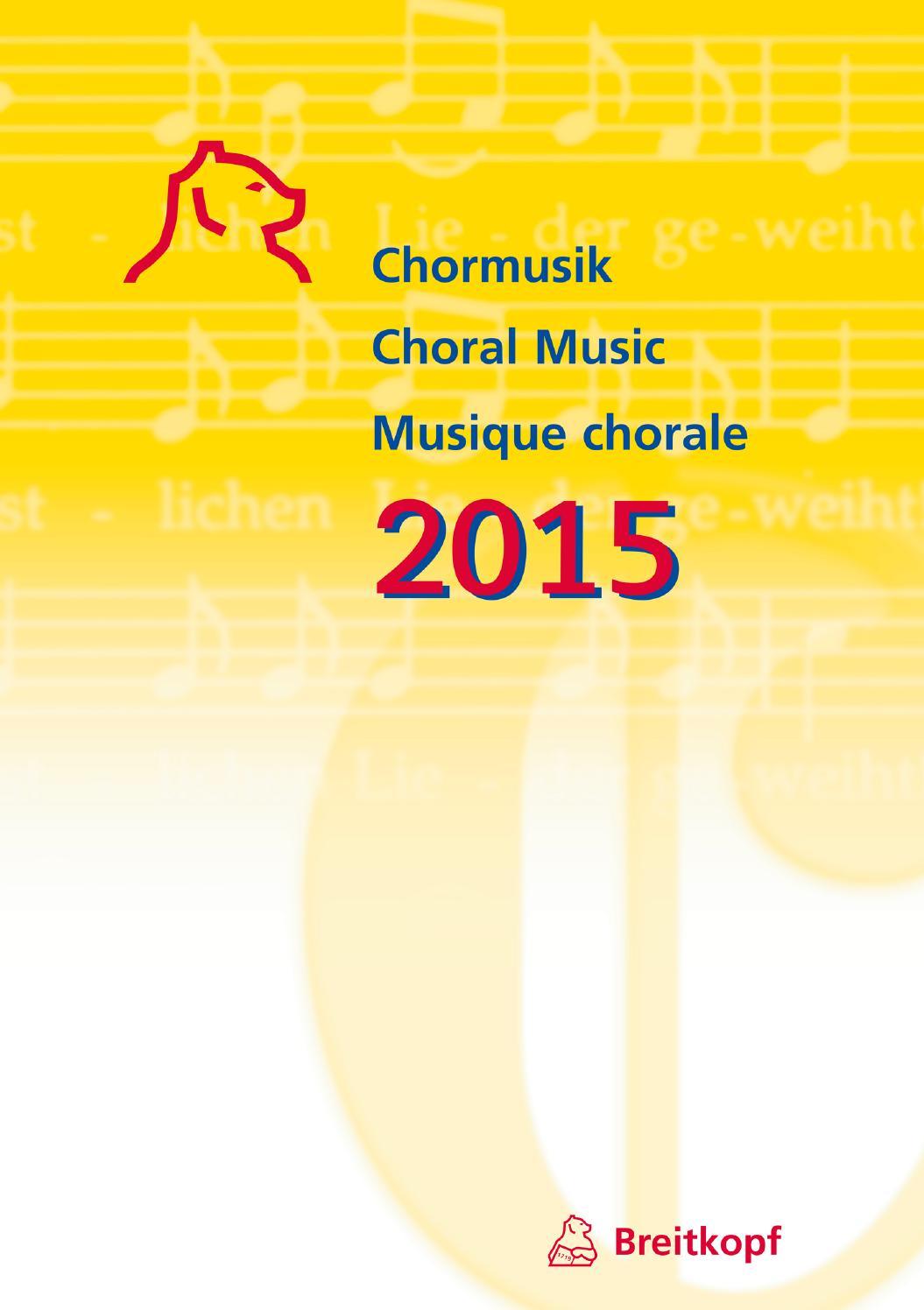 Weismann Ausgewählte Chorwerke für gemischten Chor a cappella