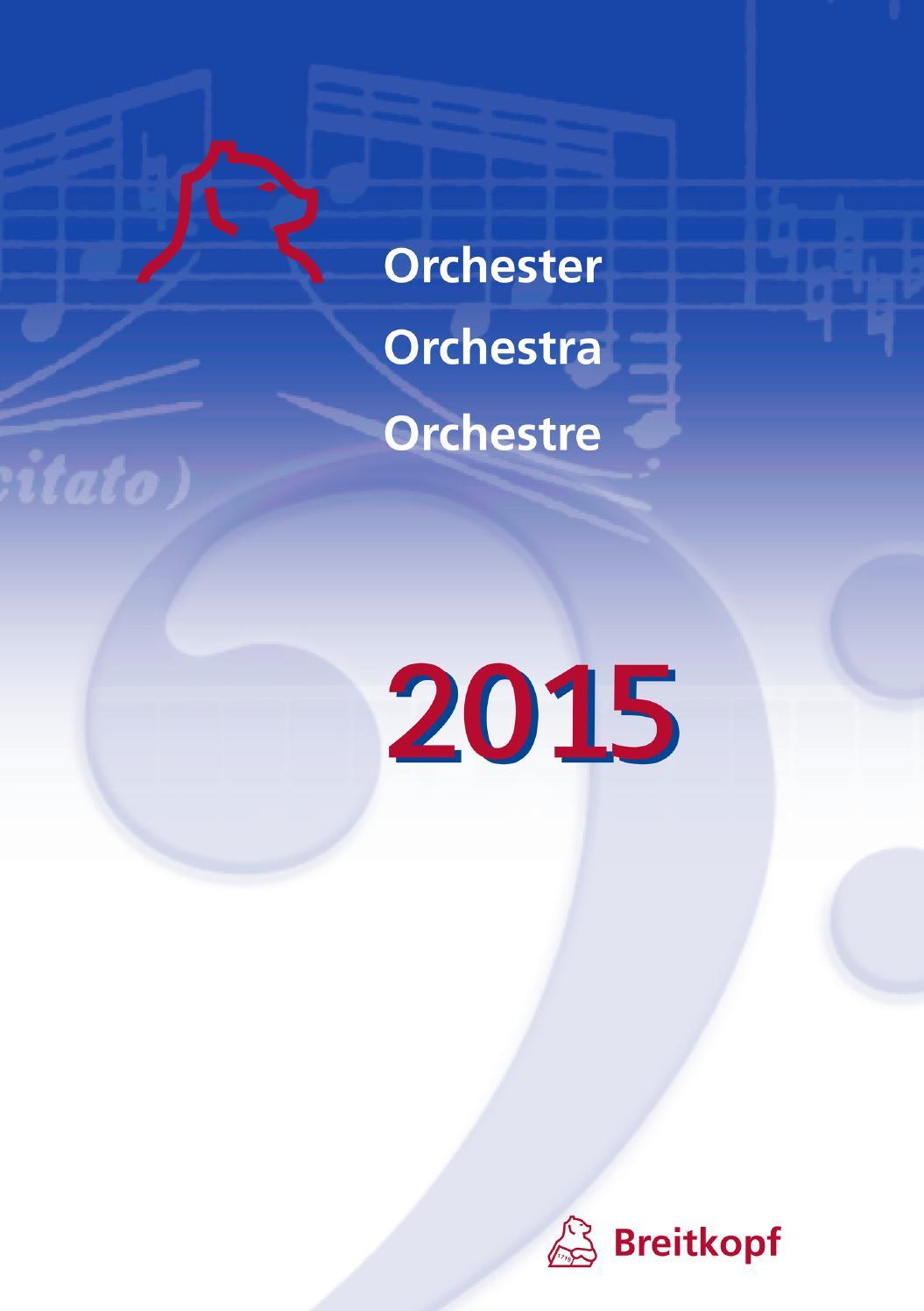 Orchester 2015 by Breitkopf & Härtel - issuu