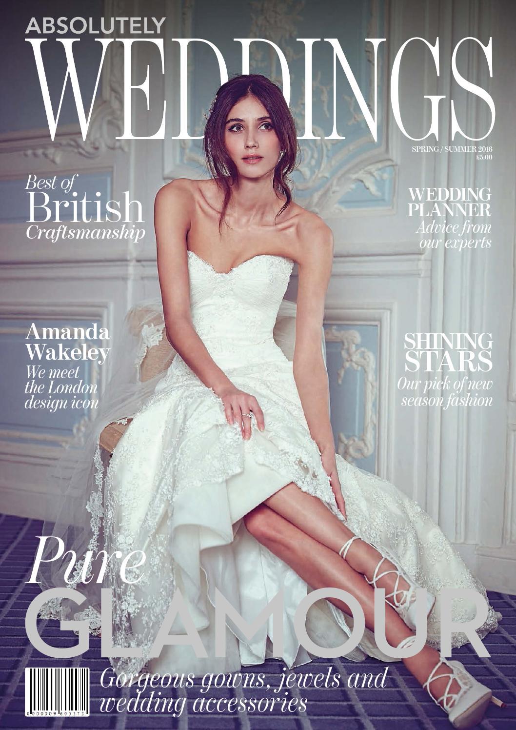 Weddings Spring Summer 2016 By Zest Media London Issuu