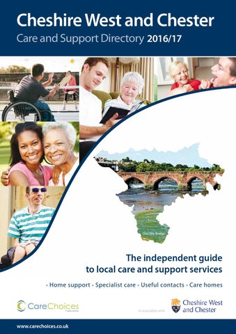 Cheshire West And Chester Care Support Directory 2016 17