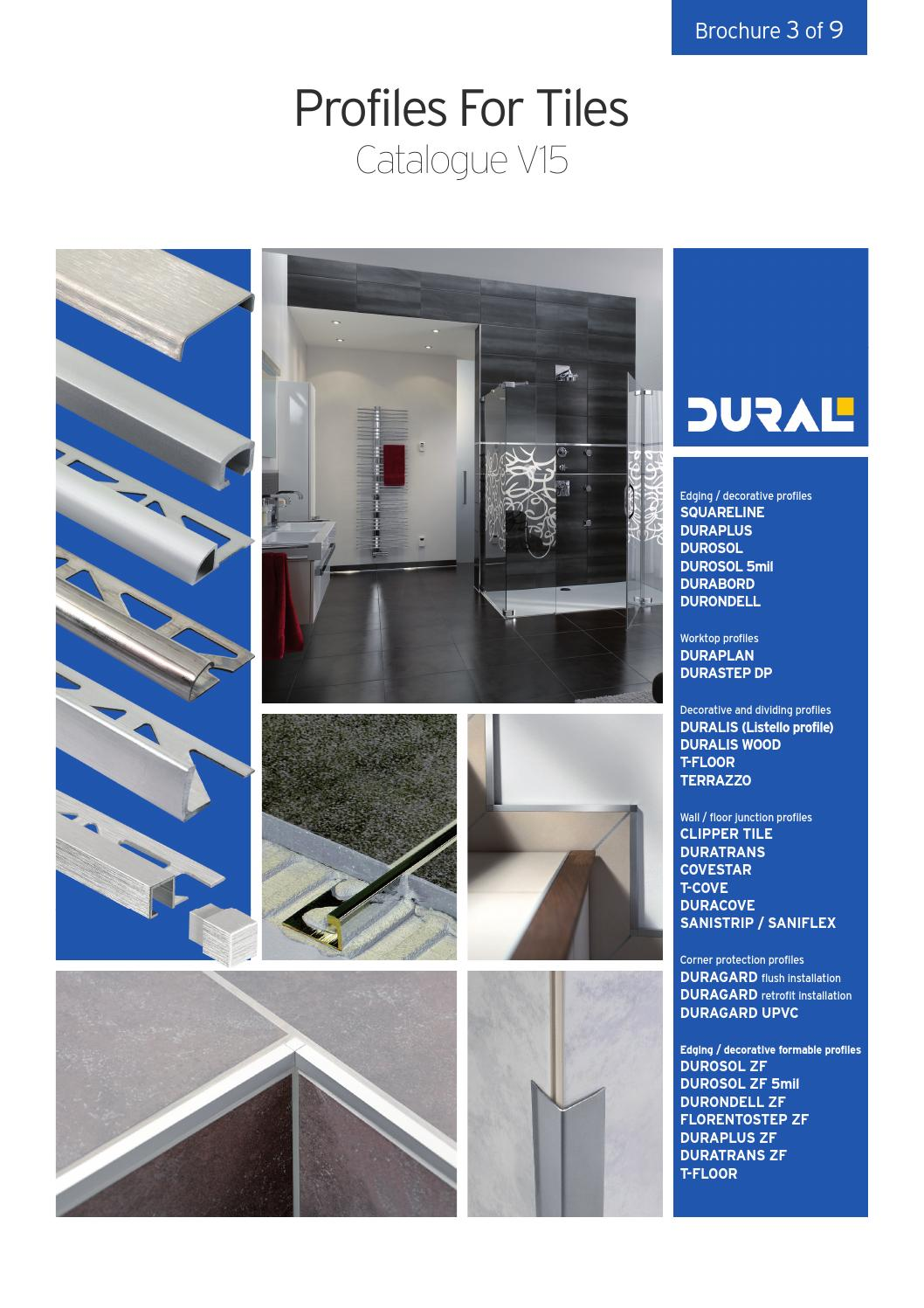 Dural Profiles For Tiles By Ctc Issuu
