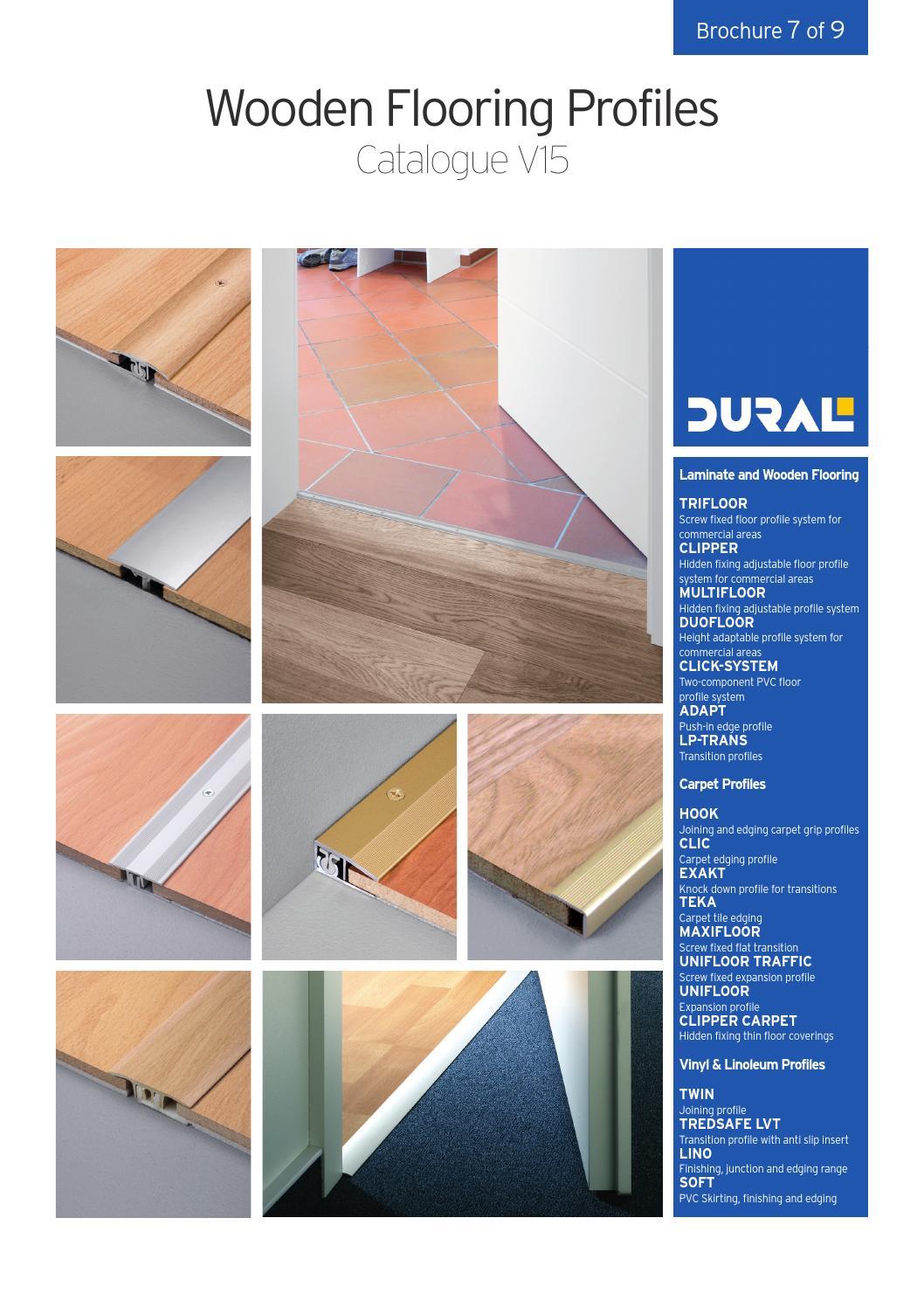 Dural Wooden Flooring Profiles