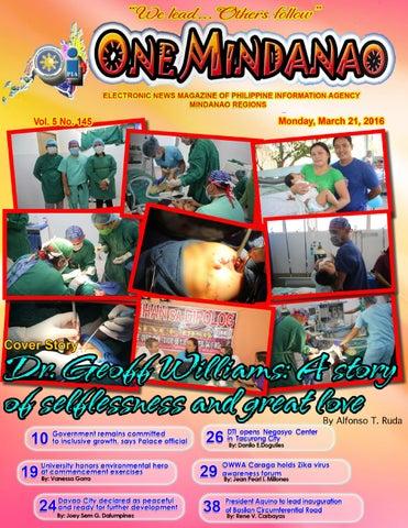 One Mindanao - March 21, 2016 by PIA- Mindanao - issuu