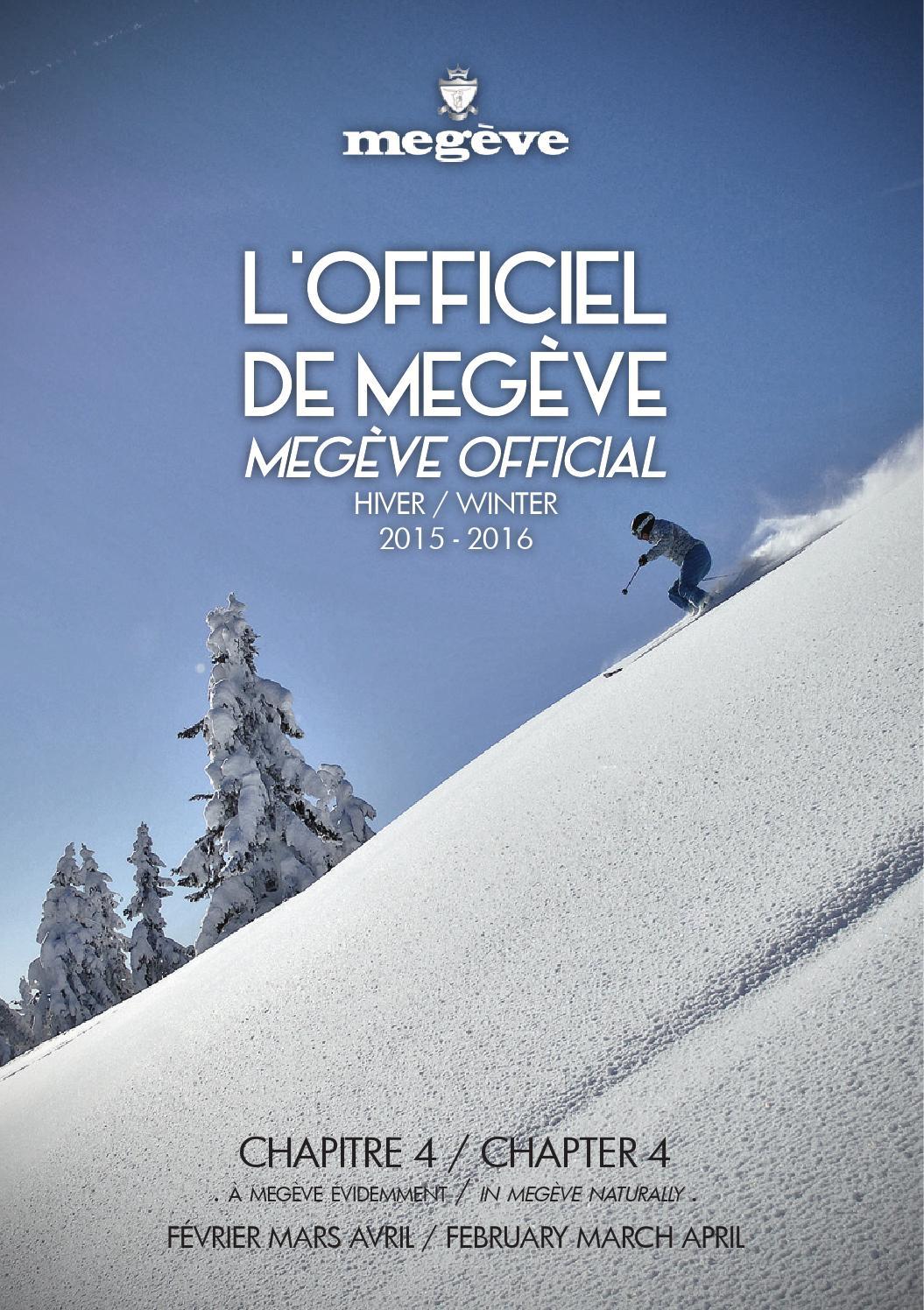 362890c2e6b161 L Officiel de Megève Fév à Avr by Megève (officiel) - issuu