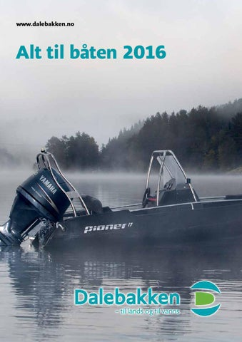 2fd3d36c Båtutstyr - Alt til båten 2016 by Dalebakken Maskin AS - issuu