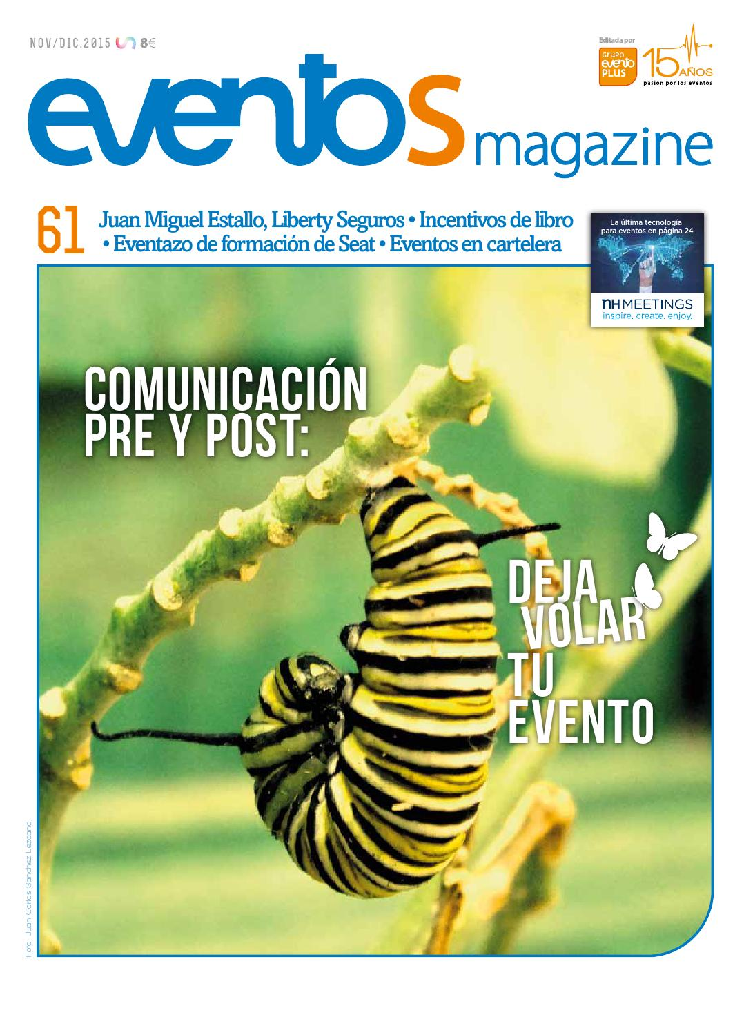 5e433ff1ad eventos Magazine #61 by Grupo eventoplus - issuu