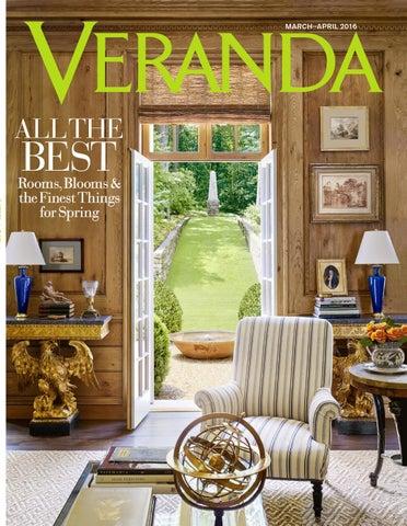 Veranda Magazine - April 2016 by Le Jardin Français - issuu