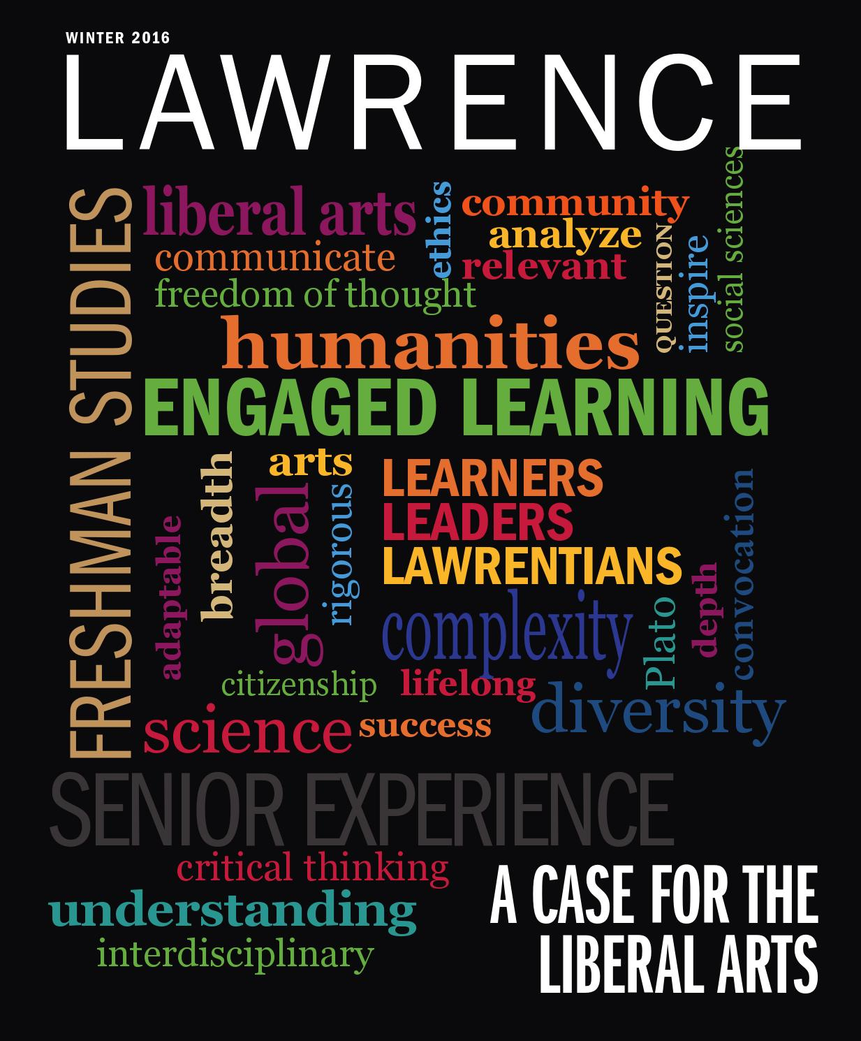 Lawrence magazine Winter 2016 by Lawrence University - issuu