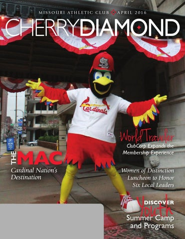 Missouri Athletic Club, Cherry Diamond, April 2016 by Missouri