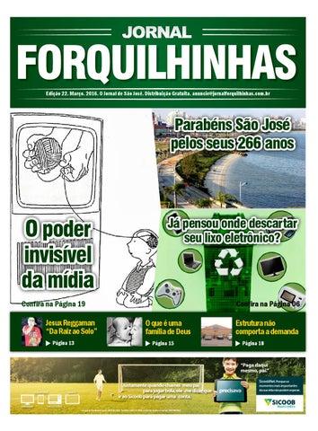 Jornal Forquilhinhas - Edição Digital  22 by Mídia Prime - issuu f31cb97bd8d95