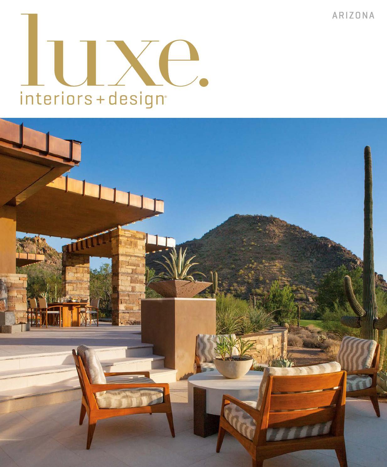 Luxe Magazine March 2016 Arizona by SANDOW® - issuu