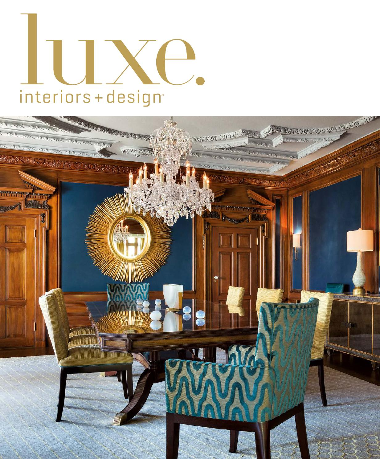 Luxe Magazine March 2016 National By Sandow Issuu