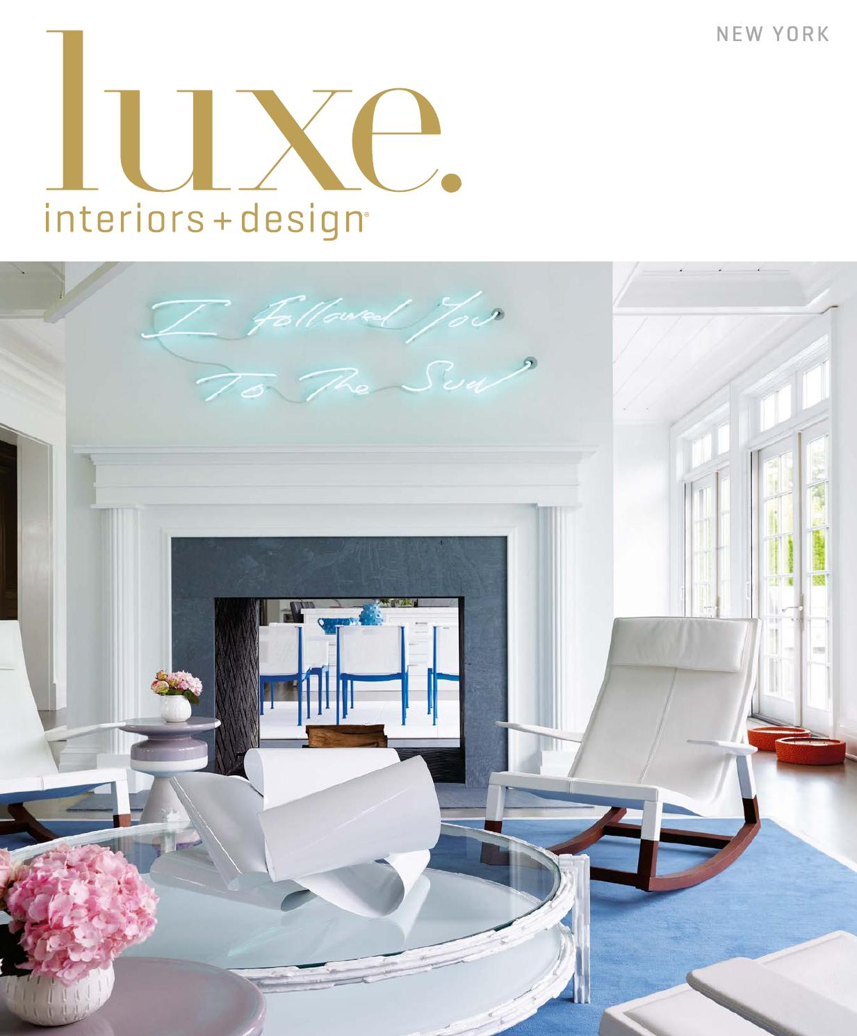 Luxe Magazine March 2016 New York By Sandow Issuu