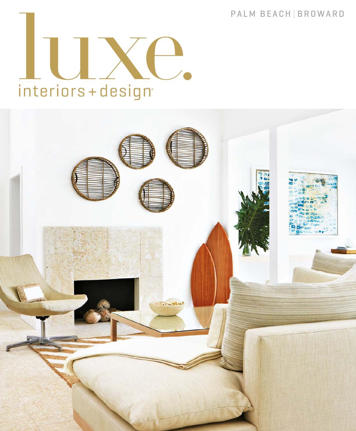 Luxe Magazine March 2016 Palm Beach