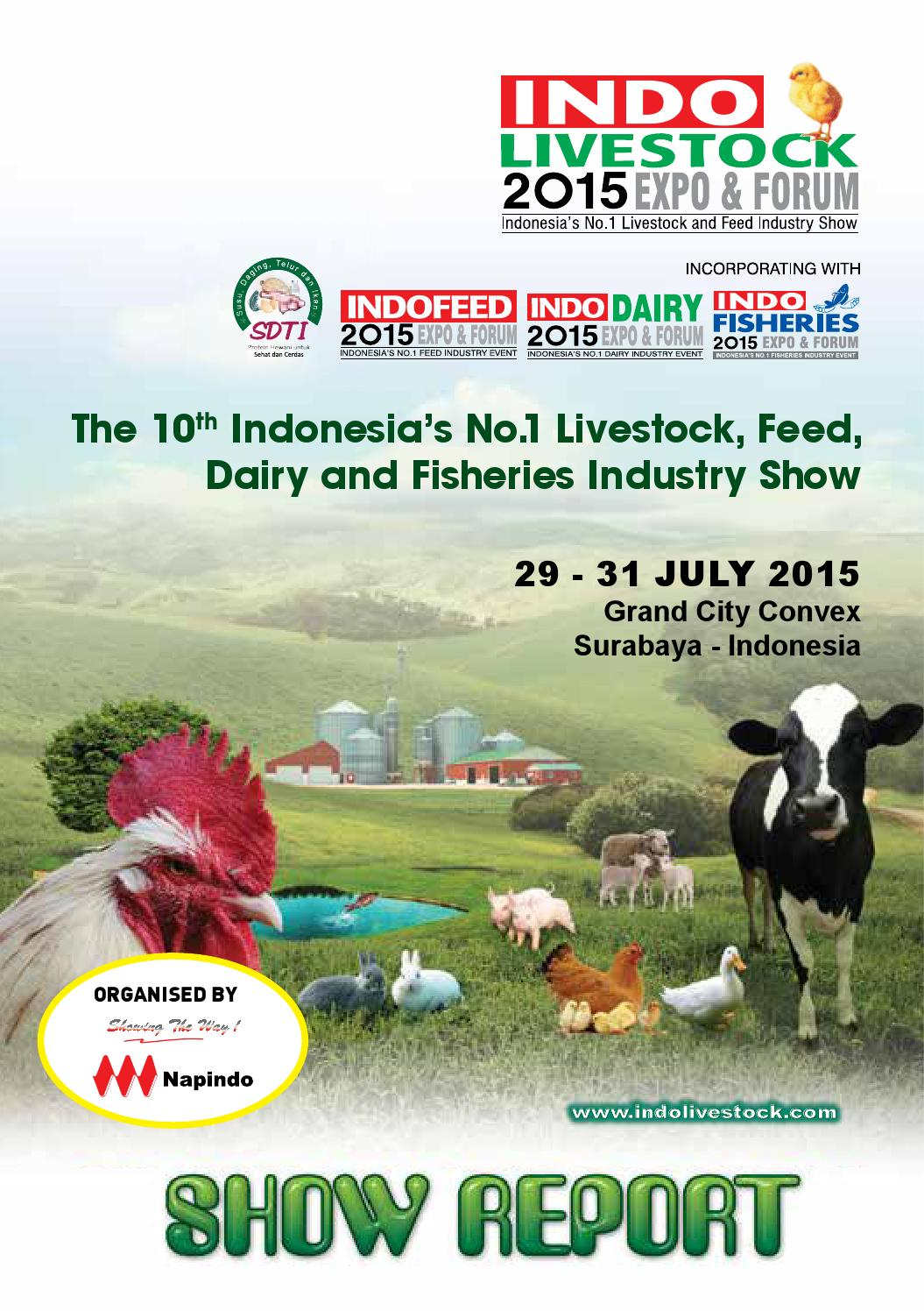indo livestock indo feed indo dairy and indo fisheries 2015 expo forum show report
