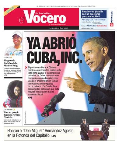 47b4fc286 Edición 22 de Marzo 2016 by El Vocero de Puerto Rico - issuu