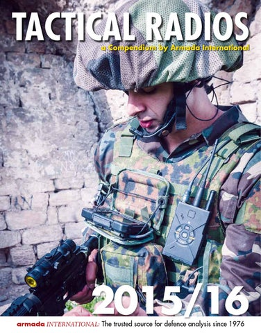 Tactical Radios Compendium 2015 by Armada International