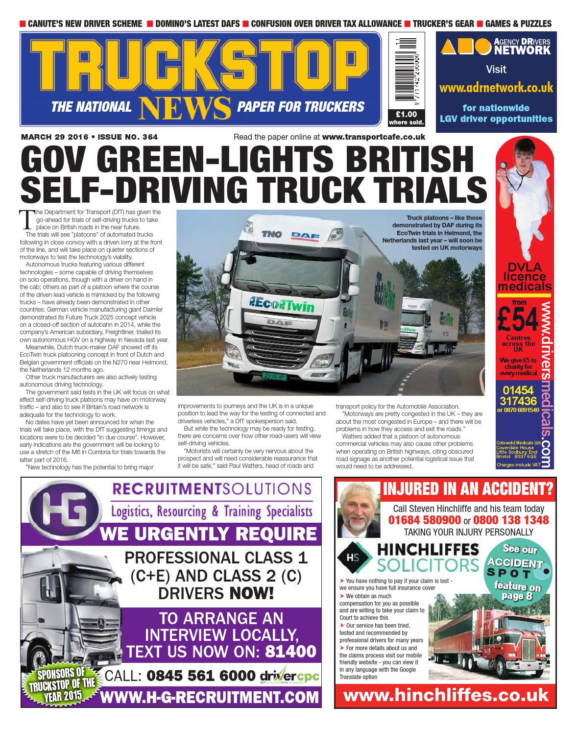 Truck stop news issue 364 by KELSEY Publishing Ltd - issuu